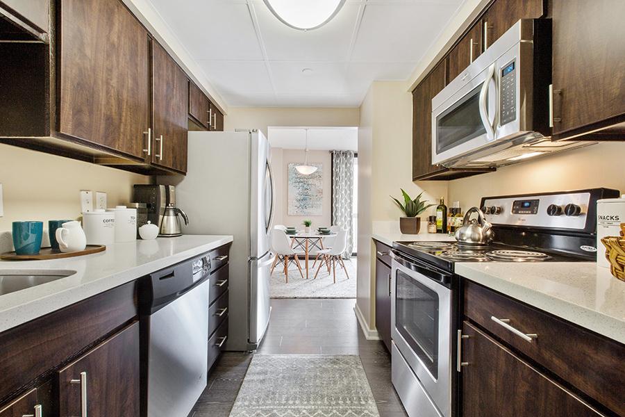 Prospect Place Apartments Kitchen