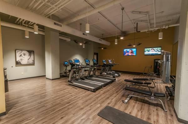 Spacious Fitness Studio