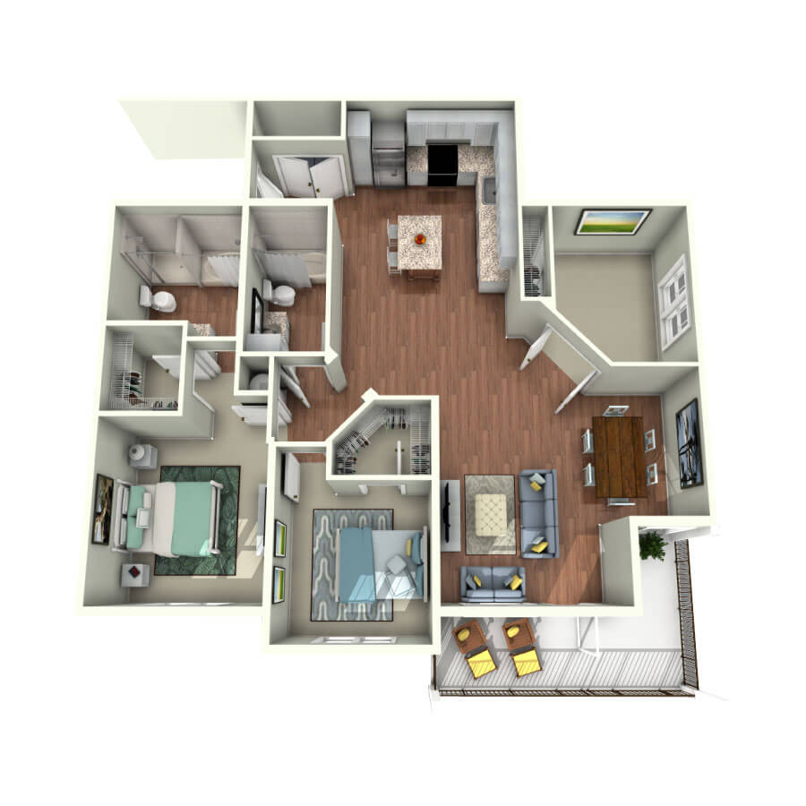 2 Bayshore New Luxury Apartments For Rent In South Tampa